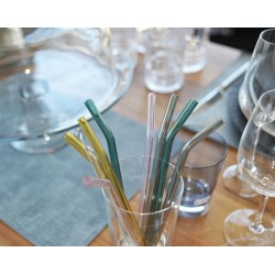 Pailles en verre Villeroy &...